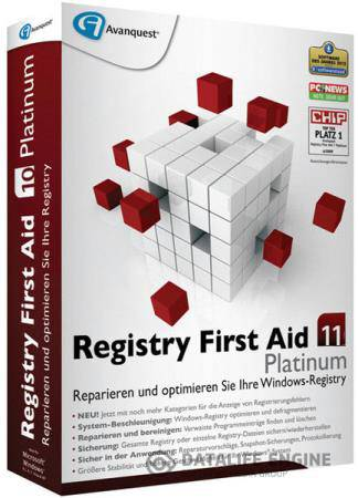 Registry First Aid Platinum 11.0.2 Build 2455 RePack by D!akov