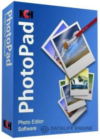 NCH PhotoPad Image Editor Pro 3.11 Rus Portable