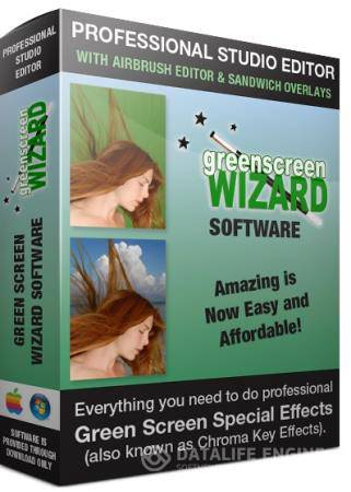 Green Screen Wizard Professional 9.5 DC 16.07.2017 Rus Portable